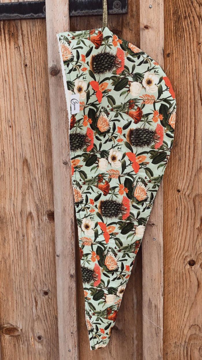 turban motif cactus