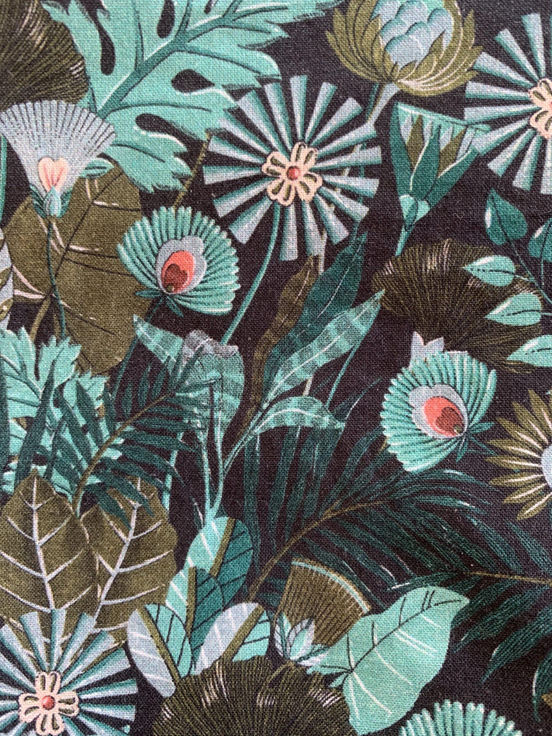 turban cjaquotte motif fleuri