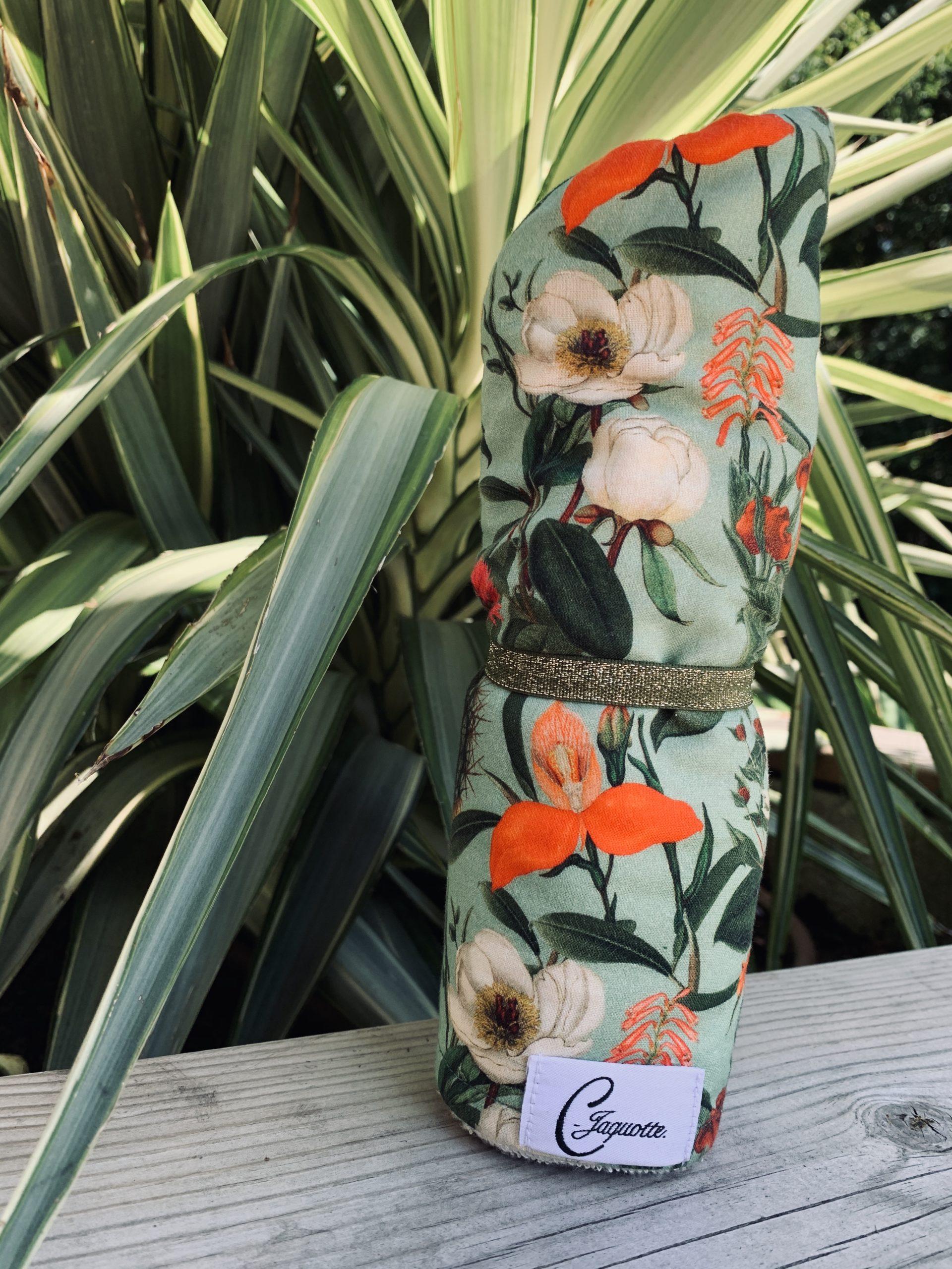 turban motif cactus en coton cjaquotte